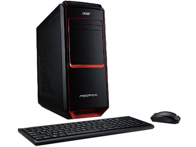 Acer Aspire Desktop PC Intel Core i7 Standard Memory 12 GB Memory Technology DDR3 SDRAM 2TB HDD No Genuine Windows 8