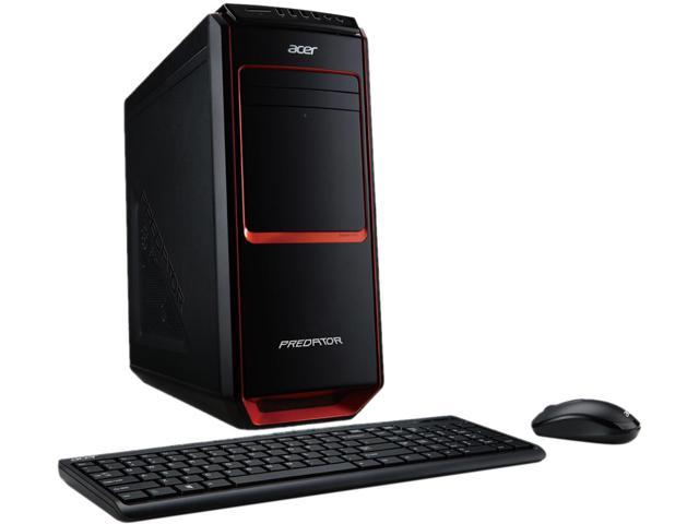 Acer Desktop PC Predator AG3-605-UR24 (DT.SPXAA.005) Intel Core i7 4770 (3.40 GHz) 12 GB DDR3 2 TB HDD Windows 8