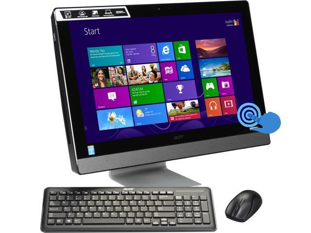 Acer Desktop PC Aspire AZ3-615-UR13 Pentium G3220T (2.60 GHz) 4 GB DDR3 1 TB HDD 23