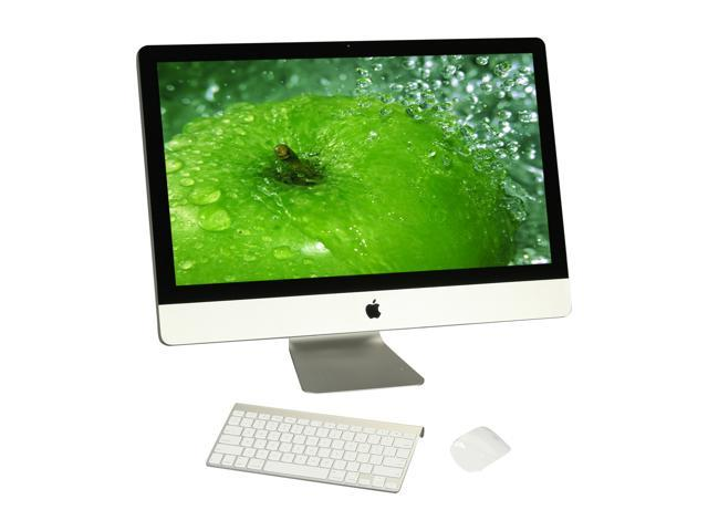 Apple iMac iMac MC814LL/A Intel Core i5 3.1 GHz 4 GB DDR3 1 TB HDD AMD Radeon HD 6970M graphics processor with 1GB of GDDR5 memory Mac OS X 10.7 Lion