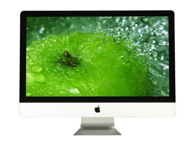 """Apple iMac MC814LL/A iMac Intel Core i5 3.1GHz 4GB DDR3 1TB HDD 27"""" Mac OS X v10.7 Lion"""