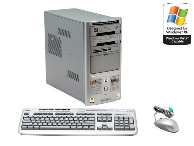 HP Pavilion a1640n(RC663AA) Desktop PC Core 2 Duo E6300(1.86GHz) 2GB DDR2 250GB HDD Capacity Intel GMA 3000 Windows XP Media Center