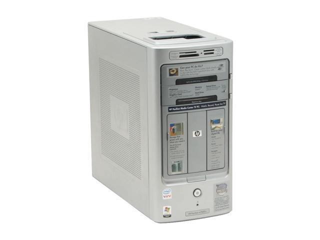HP Pavilion m7650n(RF254AA) Desktop PC Core 2 Duo E6300(1.86GHz) 2GB DDR2 320GB HDD Capacity Intel GMA 3000 Windows XP Media Center