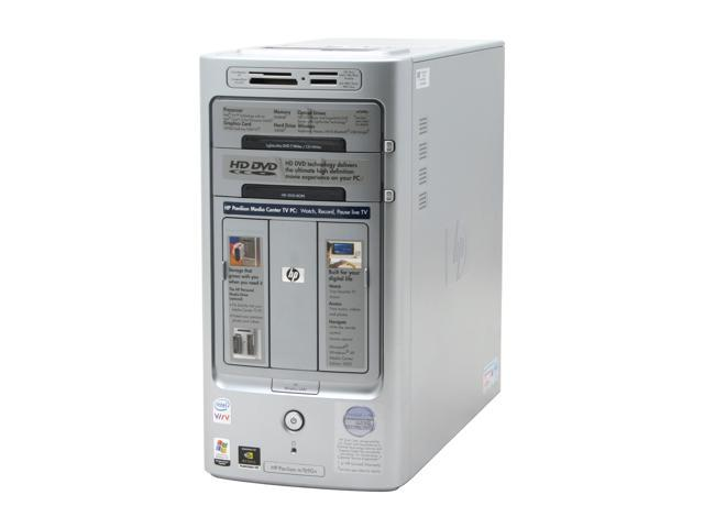 HP Pavilion m7690n(RC648AA) Desktop PC Core 2 Duo E6400(2.13GHz) 2GB DDR2 500GB HDD Capacity NVIDIA GeForce 7600GT Windows XP Media Center
