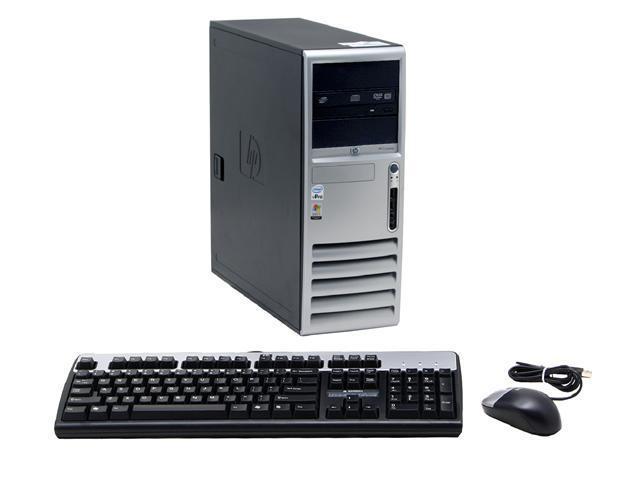 HP Compaq dc7700(EN328UT#ABA) Desktop PC Core 2 Duo E6400(2.13GHz) 2GB DDR2 500GB HDD Capacity ATI Radeon X1600XT Windows XP Professional