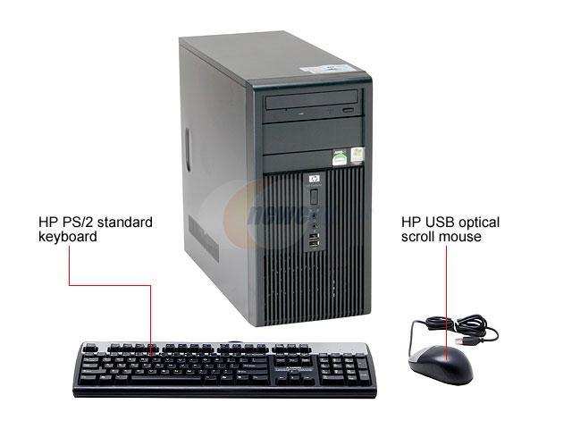 HP Compaq dx2250(RT758UT#ABA) Desktop PC Sempron 3400+ 512MB DDR2 80GB HDD Capacity ATI Radeon Xpress 1150 Integrated Windows XP Professional