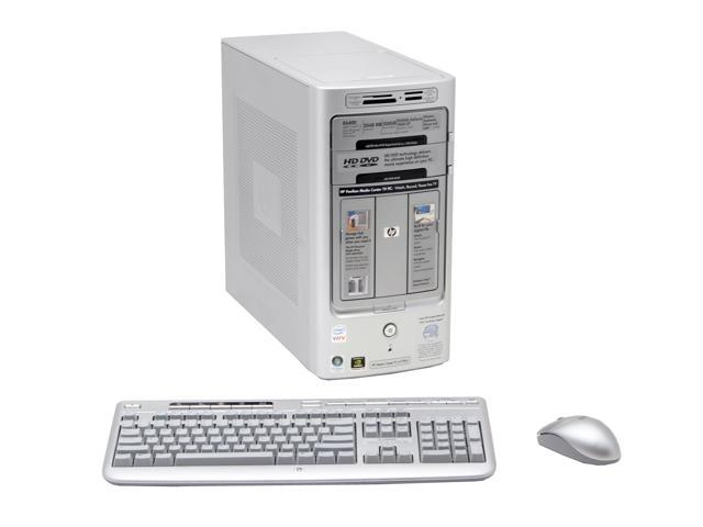 HP Pavilion m7780n(RK571AA) Desktop PC Core 2 Duo E6400(2.13GHz) 2GB DDR2 500GB HDD Capacity NVIDIA GeForce 7600GT Windows Vista Home Premium