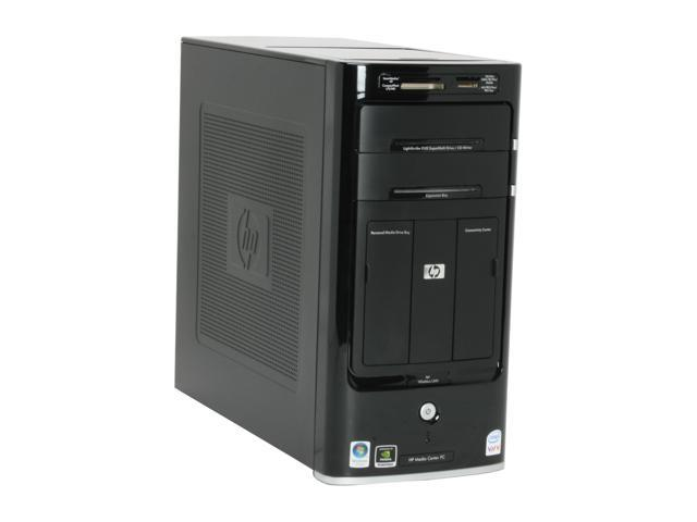 HP Pavilion M8120N(GC674AA) Desktop PC Core 2 Quad Q6600(2.40GHz) 3GB DDR2 640GB HDD Capacity NVIDIA GeForce 7350LE Windows Vista Home Premium