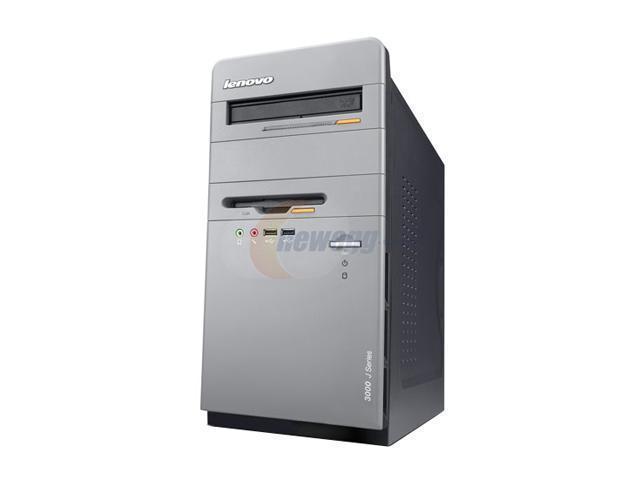 lenovo 3000 J115(738727U) Desktop PC Athlon 64 X2 3800+ 1GB DDR2 250GB HDD Capacity NVIDIA GeForce 6100 Windows XP Professional