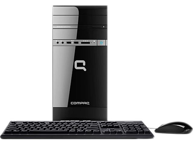 COMPAQ Desktop PC CQ2723W AMD Dual-Core Processor E1-1200 (1.40 GHz) 4 GB DDR3 500 GB HDD AMD Radeon HD 7310 Windows 7 Home Premium 64-Bit