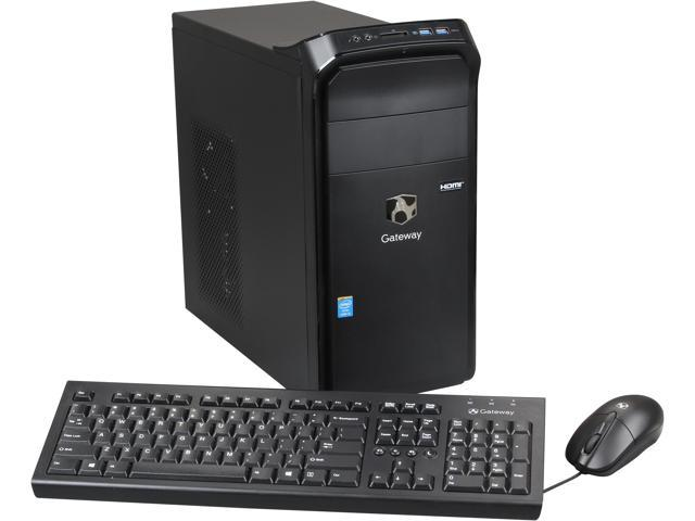 Gateway Desktop PC DX4885-UB3A Intel Core i5 4430 (3.00 GHz) 8 GB DDR3 1 TB HDD Intel HD Graphics 4600 Windows 8