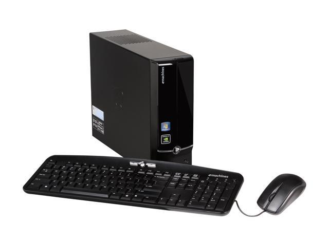 eMachines Desktop PC EL1358G-51W Athlon II X2 220 (2.80 GHz) 3 GB DDR3 1 TB HDD NVIDIA GeForce 6150 SE Windows 7 Home Premium