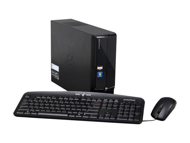 eMachines Desktop PC EL1360G-UW10P (PT.ND5P2.001) AMD Dual-Core Processor E-300 (1.3 GHz) 2 GB DDR3 250 GB HDD Windows 7 Home Premium 64-Bit