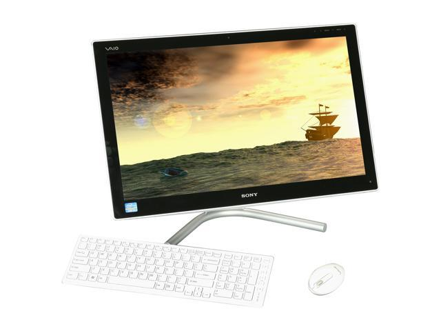 "Sony All-in-One PC VAIO SVL24114FX/W Intel Core i5 3210M (2.50 GHz) 6GB 1 TB HDD 24"" Windows 7 Home Premium 64-Bit"