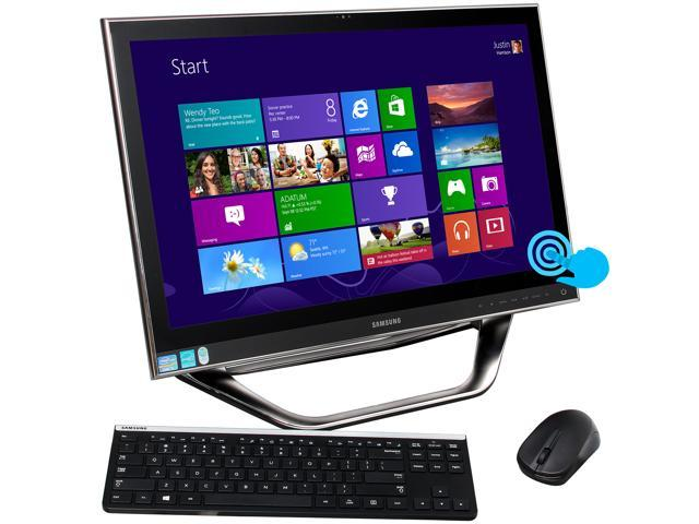 "Samsung All-in-One PC Series 7 DP700A3D-A01US Intel Core i5 3470T (2.9 GHz) 6 GB DDR3 1 TB HDD 23.6"" Touchscreen Windows ..."