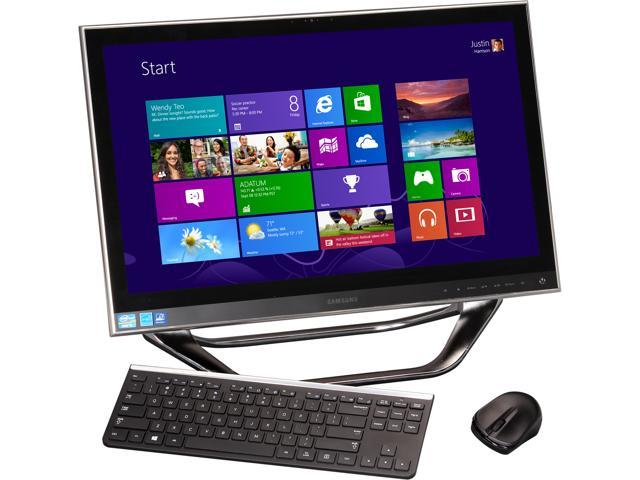 "Samsung All-In-One PC ATIV One 7 DP700A3D-K01US Intel Core i5 3470T (2.9 GHz) 6 GB DDR3 1 TB HDD 23.6"" Touchscreen Windows ..."
