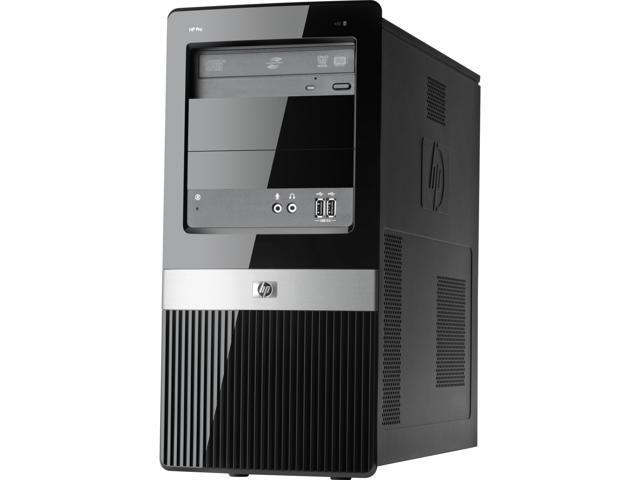 HP Desktop PC Pro 3130 (VS796UT#ABA) Pentium Dual Core G6950 (2.80 GHz) 2 GB DDR3 160 GB HDD Windows 7 Professional 32-bit