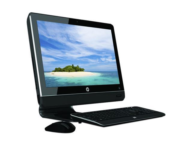 "HP All-in-One PC TouchSmart 310-1037 (BT609AAR#ABA) Athlon II X2 240e (2.8 GHz) 4 GB DDR3 1 TB HDD 20"" Touchscreen Windows ..."