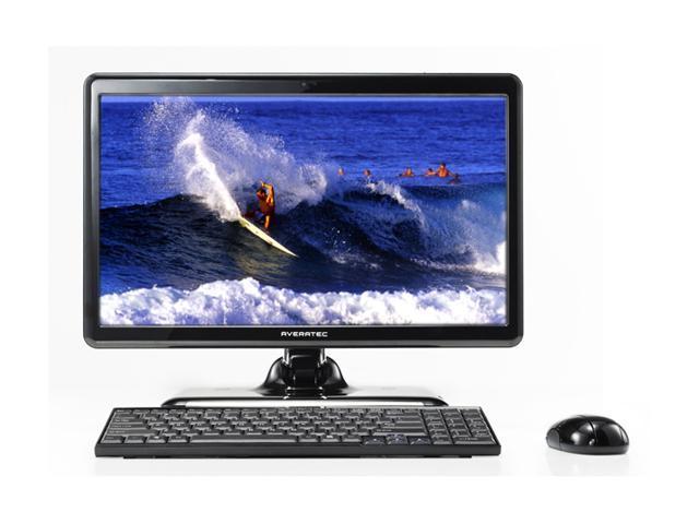 AVERATEC Desktop PC Danube D1130EA1E-1 Intel Atom 1.6 GHz 1 GB DDR2 160 GB HDD 18.4