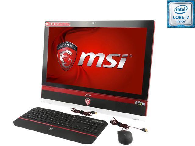 MSI All-in-One Computer Gaming 27T 6QE-002US Intel Core i7 6700 (3.4 GHz) 16 GB DDR4 2 TB HDD 256 GB SSD NVIDIA GeForce GTX ...