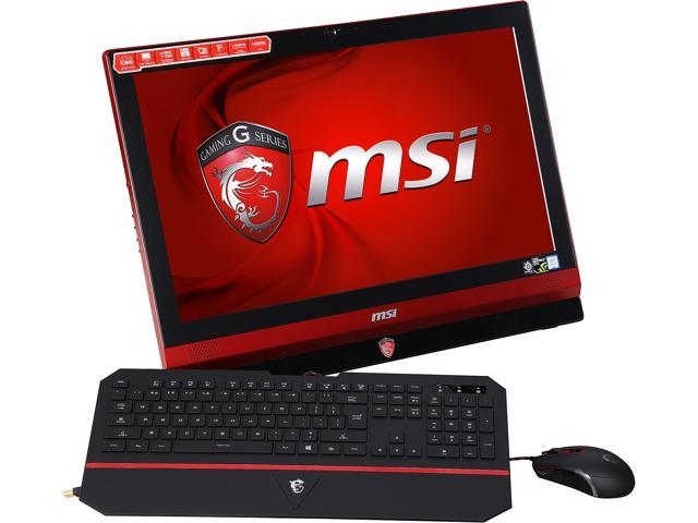 MSI All-in-One Computer Gaming 24 6QE 4K-014US Intel Core i7 6th Gen 6700HQ (2.6 GHz) 16 GB DDR4 1 TB HDD 23.6