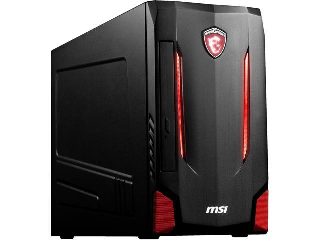 MSI Desktop Computer Nightblade MI2-237US Intel Core i5 6th Gen 6400 (2.7 GHz) 8 GB DDR4 1 TB HDD 128 GB SSD NVIDIA GeForce GTX 1060 Windows 10 Home 64-Bit