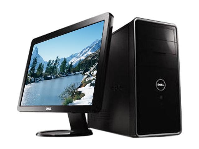DELL Desktop PC Bundle Inspiron 560 (i560-2128NBK) Celeron