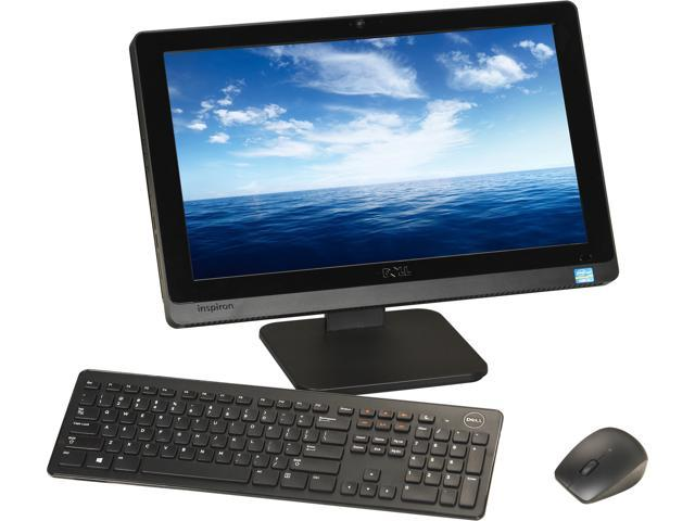 "DELL All-in-One PC Inspiron One io2020-5000BK Intel Core i3 2120T (2.60 GHz) 6 GB DDR3 1 TB HDD 20"" Windows 8"