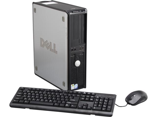 DELL Desktop PC OptiPlex 755 Core 2 Quad 2.40 GHz 2GB 80 GB HDD Windows 7 Professional