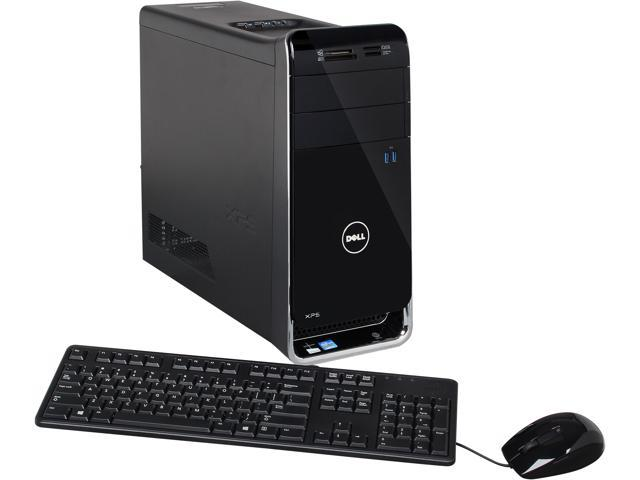 refurbished dell desktop pc xps 8500 intel core i5 3350p ghz 8gb 1 tb hdd amd radeon hd. Black Bedroom Furniture Sets. Home Design Ideas