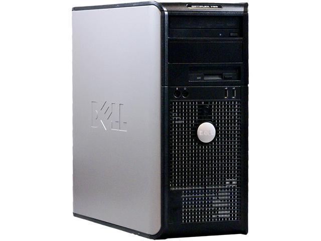 DELL Desktop PC OptiPlex 760 Core 2 Quad 2.40 GHz 4GB 1 TB HDD Windows 7 Professional 32bit