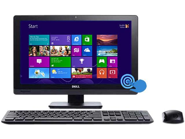 """DELL All-In-One PC Inspiron One 2020T (I202005990731SA) Pentium G2020 (2.90 GHz) 4 GB DDR3 1 TB HDD 20"""" Touchscreen Windows ..."""