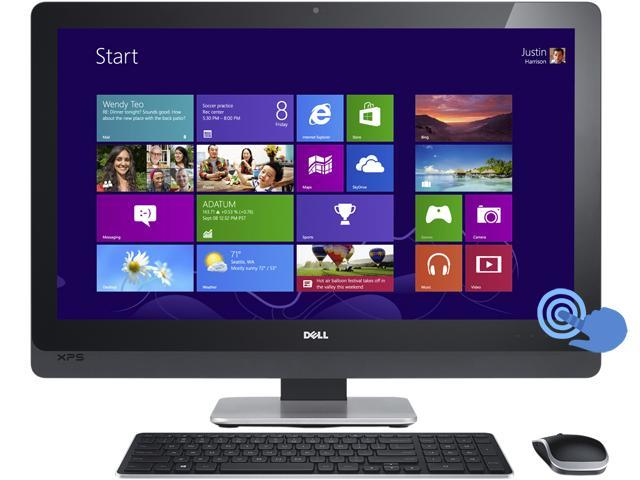 "DELL All-in-One PC XPS XPS ONE 2710N Intel Core i5 3330S (2.70 GHz) 6GB 1 TB HDD 27"" Touchscreen Windows 8 64-Bit"