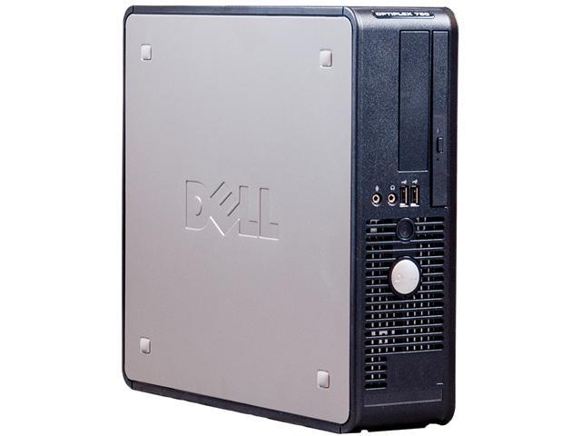 DELL Desktop PC OptiPlex 760 (NE1-0029) Core 2 Duo 2.8 GHz 4GB 750 GB HDD Windows 7 Professional 32-Bit