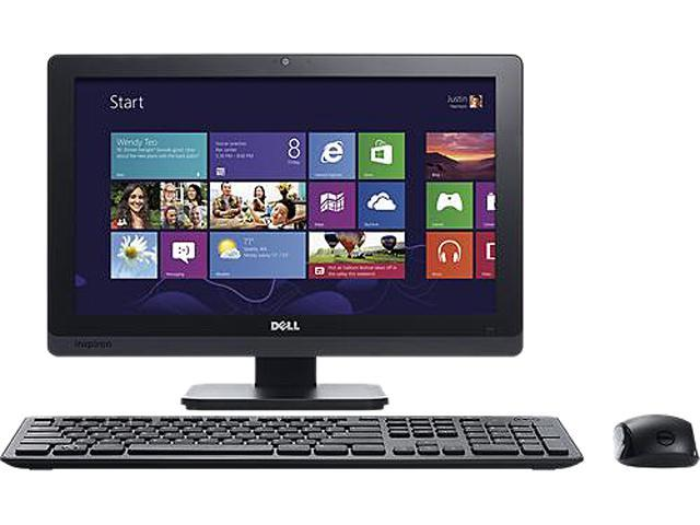 DELL Desktop PC Inspiron One IO2020-5234BK Celeron G1620T (2.4 GHz) 4 GB DDR3 500 GB HDD Windows 8