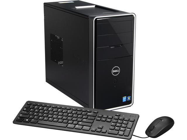 DELL Desktop PC i3847-5077BK Intel Core i5 4440 (3.10 GHz) 8 GB DDR3 1 TB HDD Windows 7 Home Premium (64Bit)