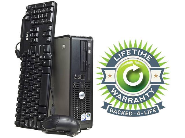 DELL Desktop PC OptiPlex 755 Core 2 Duo 2.3 GHz 2 GB 120 GB HDD Windows 7 Professional