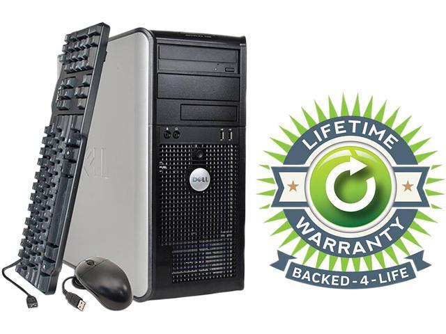 DELL Desktop PC OptiPlex Core 2 Duo 2.3 GHz 2 GB 120 GB HDD Windows 7 Professional