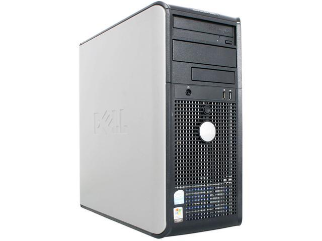 Dell OptiPlex 745 MT [Microsoft Authorized Recertified] PC with Intel Core 2 Duo E6300 1.86GHz, 2GB RAM, 80GB HDD, CD-RW, ...