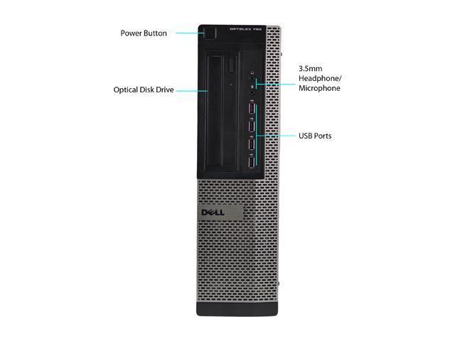 DELL Desktop PC 790 Intel Core i5 3.1 GHz 4 GB DDR3 500 GB HDD Windows 7 Professional 64-Bit