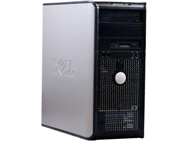 DELL Desktop Computer 760 Core 2 Duo 3.0 GHz 4 GB 250 GB HDD Windows 10 Home 64-Bit