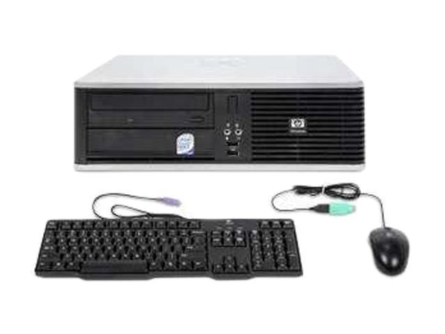 HP Compaq Desktop PC DC7800 Core 2 Duo E6550 (2.33 GHz) 2GB 80 GB HDD Windows 7 Home Premium
