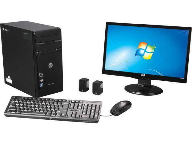 HP Desktop PC Pavilion p2-1113w (QW726AAR#ABA) AMD Dual-Core Processor E-300 (1.3 GHz) 4 GB DDR3 500 GB HDD Windows 7 Home ...
