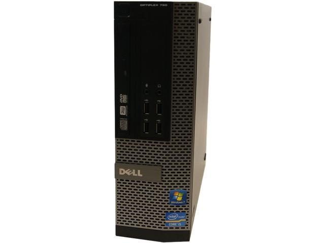 DELL Desktop Computer 790 Intel Core i3 2120 (3.30 GHz) 4 GB DDR3 250 GB HDD Intel HD Graphics 2000 Windows 10 Home 64-Bit