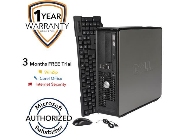 DELL Desktop Computer 755 Core 2 Duo E6550 (2.33 GHz) 4 GB DDR2 1 TB HDD Windows 7 Professional