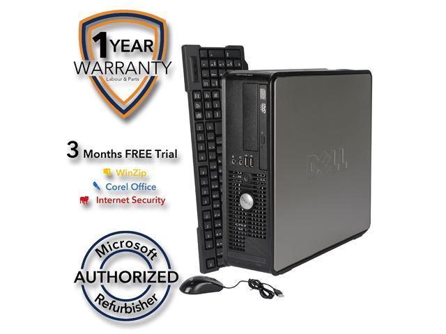 DELL Desktop Computer 760 Core 2 Duo E6550 (2.33 GHz) 4 GB DDR2 1 TB HDD Windows 7 Home Premium 64 Bit
