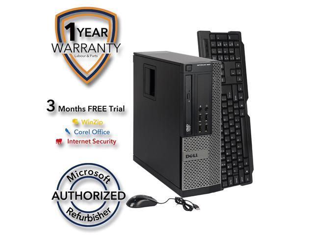 DELL Desktop Computer 990 Intel Core i5 2400 (3.10 GHz) 4 GB DDR3 250 GB HDD Intel HD Graphics 2000 Windows 7 Professional 64 Bit
