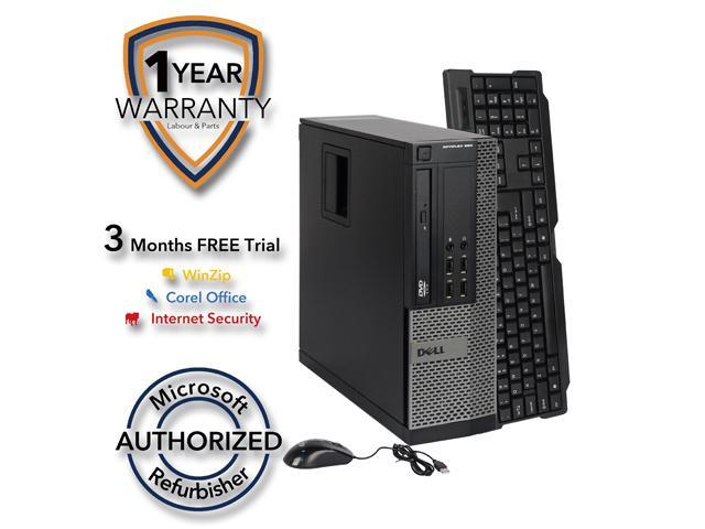 DELL Desktop Computer 990 Intel Core i5 2400 (3.10 GHz) 4 GB DDR3 1 TB HDD Intel HD Graphics 2000 Windows 7 Professional 64 Bit