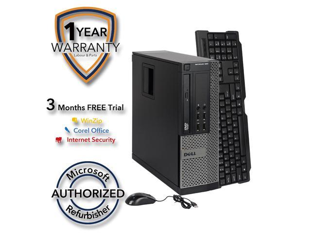 DELL Desktop Computer OptiPlex 990 Intel Core i5 3.1 GHz 8 GB DDR3 320 GB HDD Intel HD Graphics Windows 7 Professional