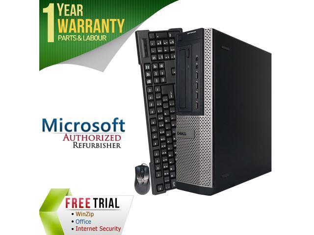 DELL Desktop Computer 990 Intel Core i5 2400 (3.10 GHz) 4 GB DDR3 250 GB HDD Intel HD Graphics 2000 Windows 7 Professional 64-Bit